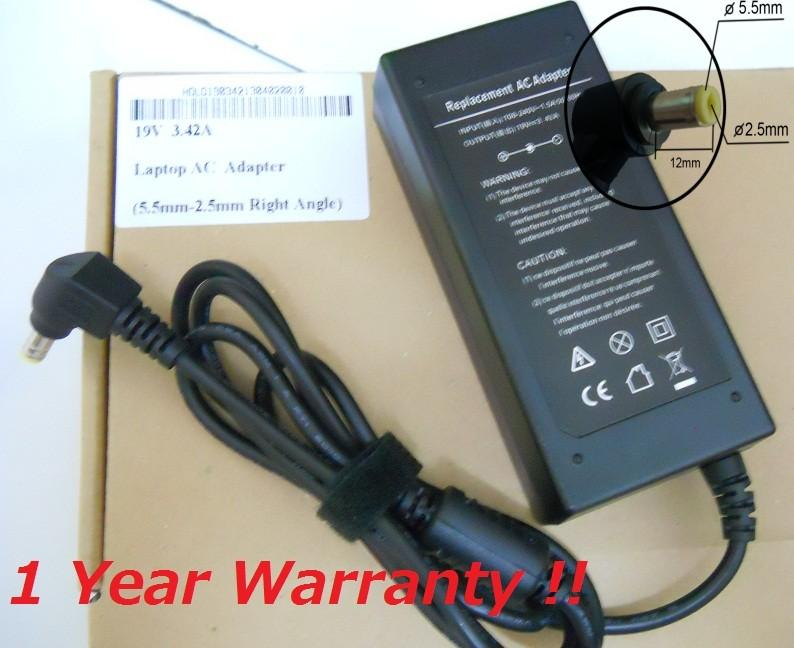 Acer Aspire 4200 4300 4500 4700 4900 Series AC Adapter Laptop Charger