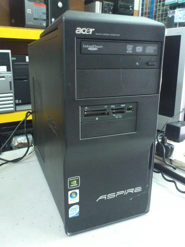 Acer Aspire M1640 Intel E7300 2.66Ghz C2D Desktop PC 310713