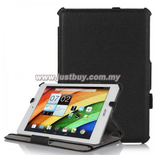 Acer Iconia A1-830 Premium Leather Case - Black