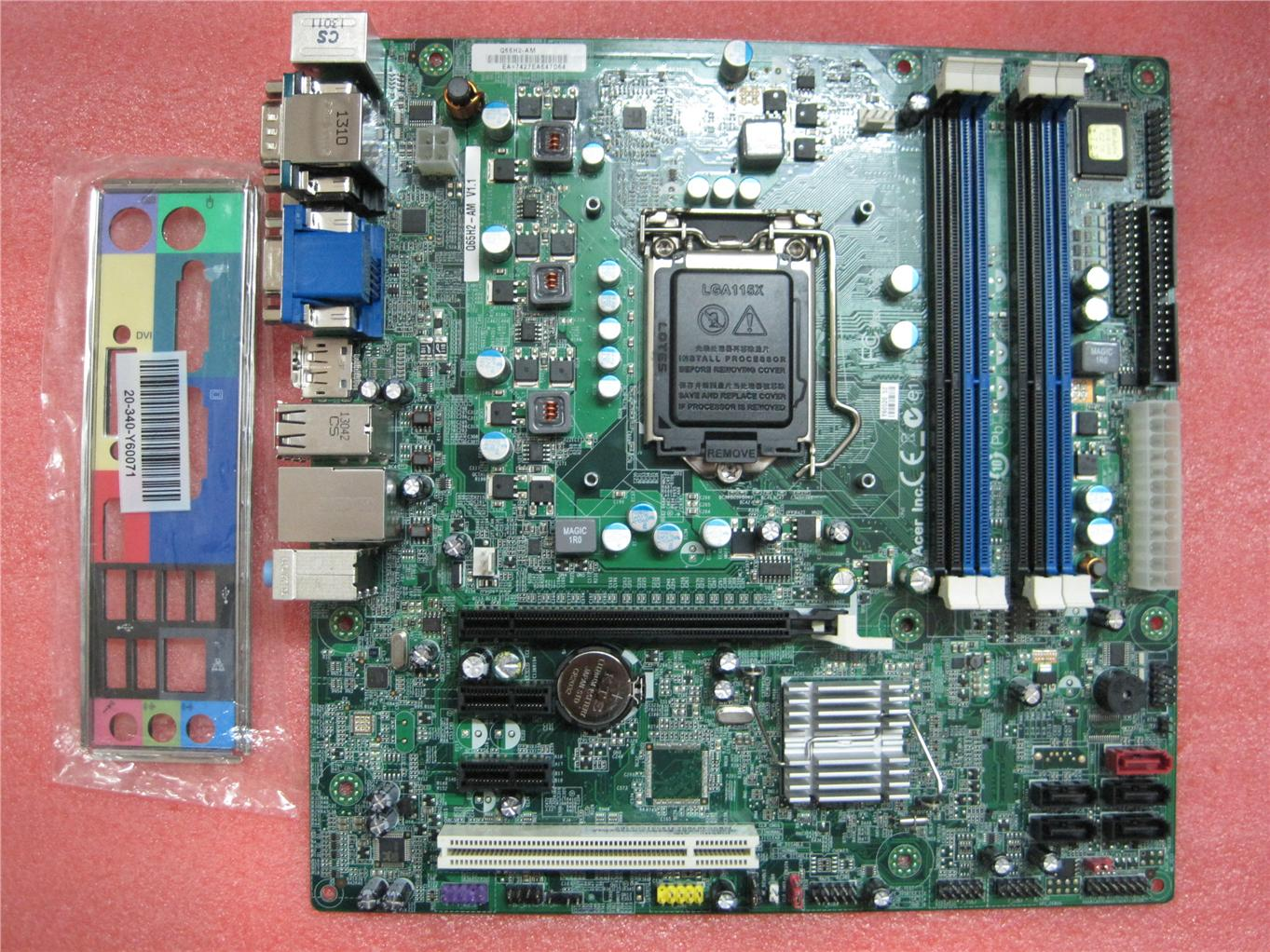 New Acer Veriton M4610 S4610 Socket 1155 DDR3 Motherboard MB.VC407.002