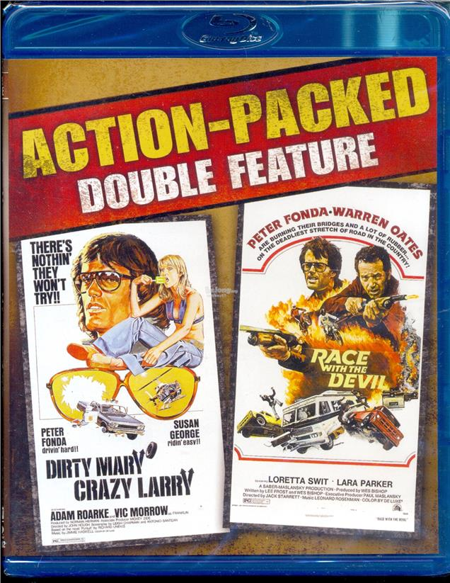 Action Packed Double Feature - New Blu-Ray