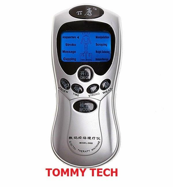 Acupuncture Body Massager Digital Therapy Machine slim massager with A..