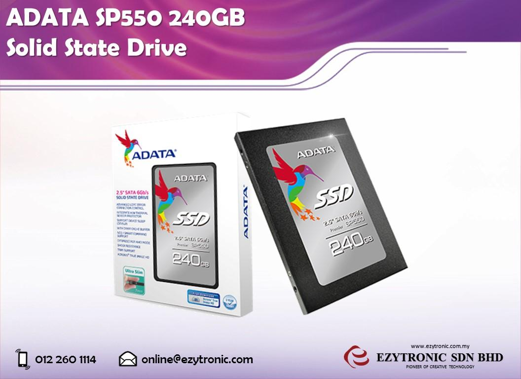 ADATA SP550 240GB Solid State Drive