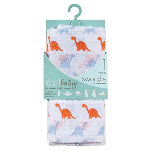 Aden+Anais Ideal Baby Muslin Swaddling - Dino