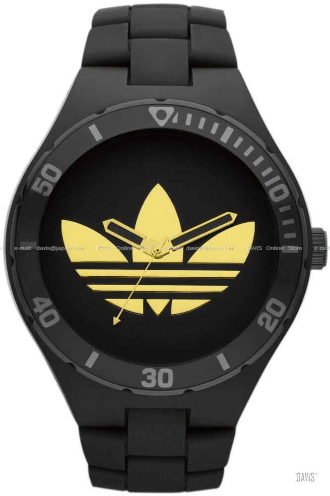 mens black adidas watch