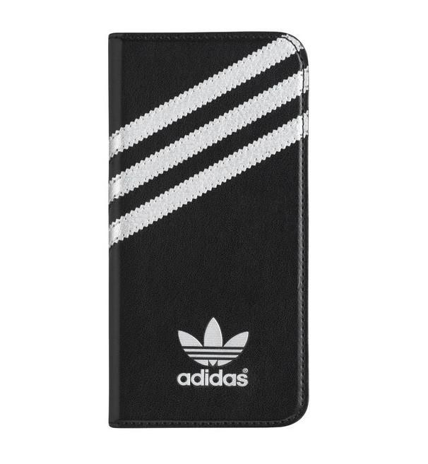 "Adidas Booklet Case for iPhone 6 (4.7"") - Black/Silver"
