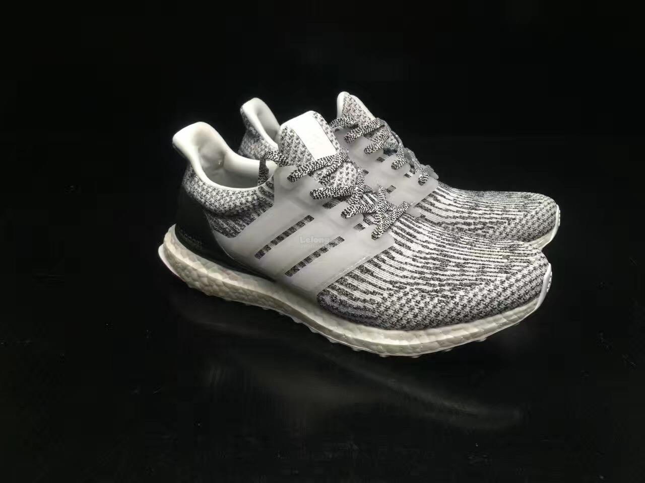 2017 Adidas ultra boost 3.0 blue and silver Gray Sole InfoKG