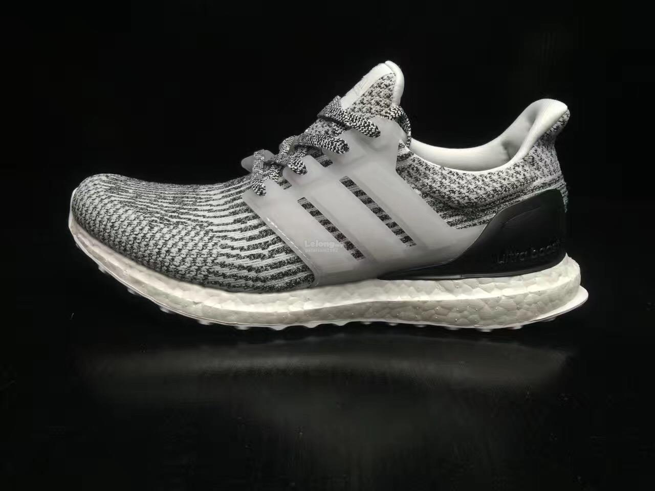 Adidas Ultra Boost M (Core Black & White) End