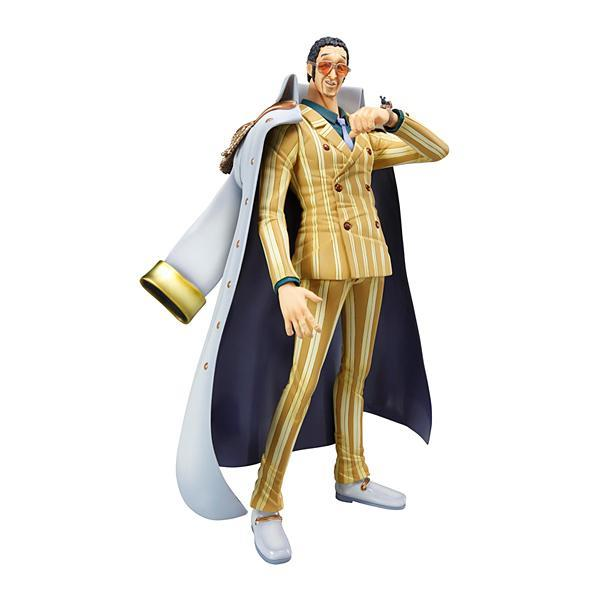 'An Admiral' Kizaru One Piece P.O.P Figure Japan ANIME Action Figures