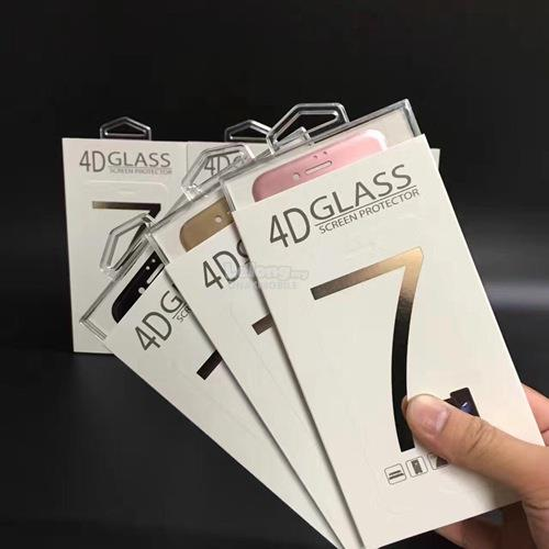 New advance tech for iphone 4D TEMPERED GLASS for ip 7 and 7+