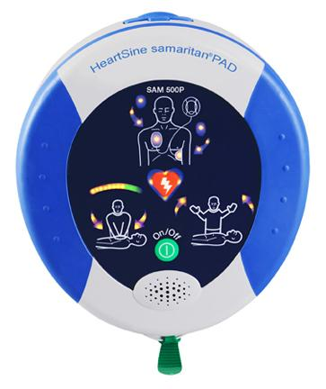 AED-Heartsine 500P with CPR Advisor