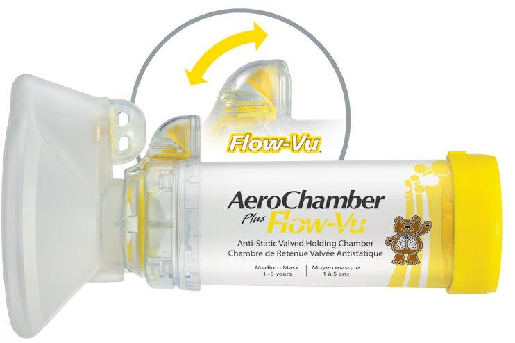 aerochamber plus flow vu medium mask end 2 5 2018 5 15 pm