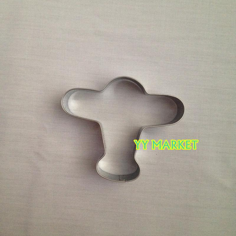 Aeroplane Shape Cookies Cutter Cookies Mould