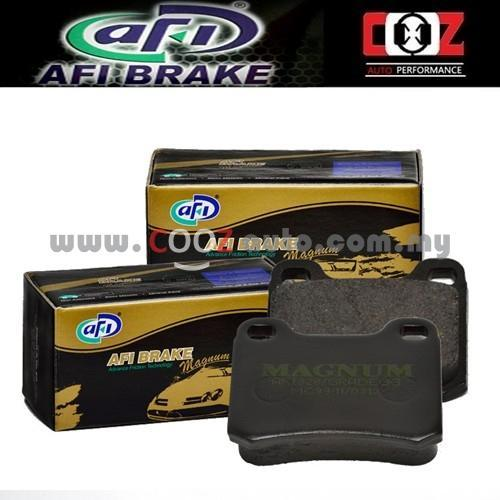AFI LOW METAL BRAKE PAD TOYOTA ALTIS 1.6/1.8/VIOS NCP42 (REAR)