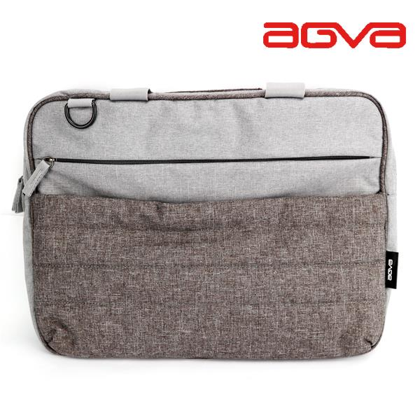 AGVA 15.6″ URBAN DENIM TRAVEL LAPTOP CASE – Slate Grey (LTB232)