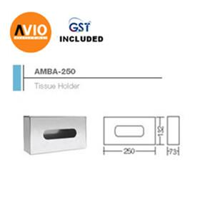 AIMER MALAYSIA AMBA-250 STAINLESS 304 250 x 132 x 73 TISSUE HOLDER