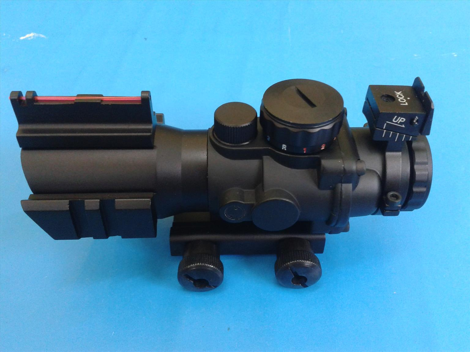 AIRSOFT PAINTBALL 4x32mm Tactical Compact Scope c/w Optic Sight