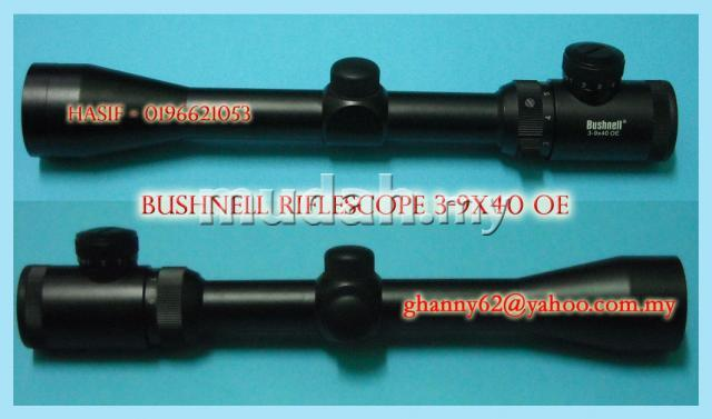 AIRSOFT OR PAINTBALL Bushnell 3-9X 40MM Scope