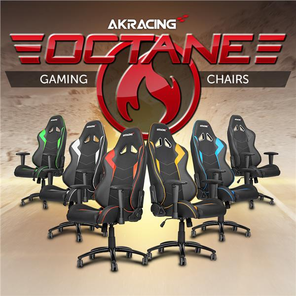 AKRACING Octane Gaming Chair – Red
