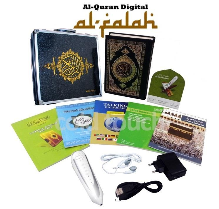 Al Quran Digital Read Pen Al-Falah (12 in 1 with Elegance Briefcase)