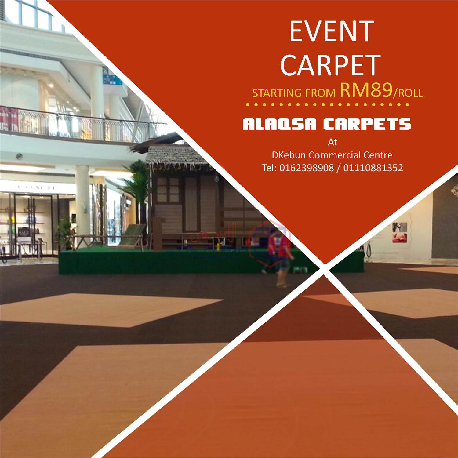 ALAQSA CARPETS EXHIBITION CARPET SUPPLIERS