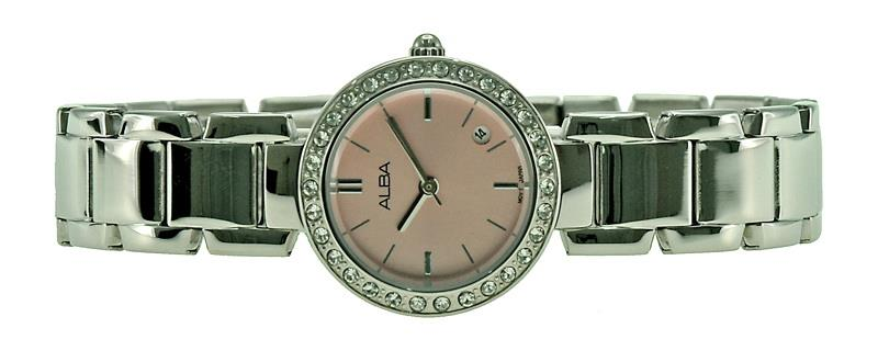 Alba Ladies Swarovski Crystal Watch VJ22-X182PSS
