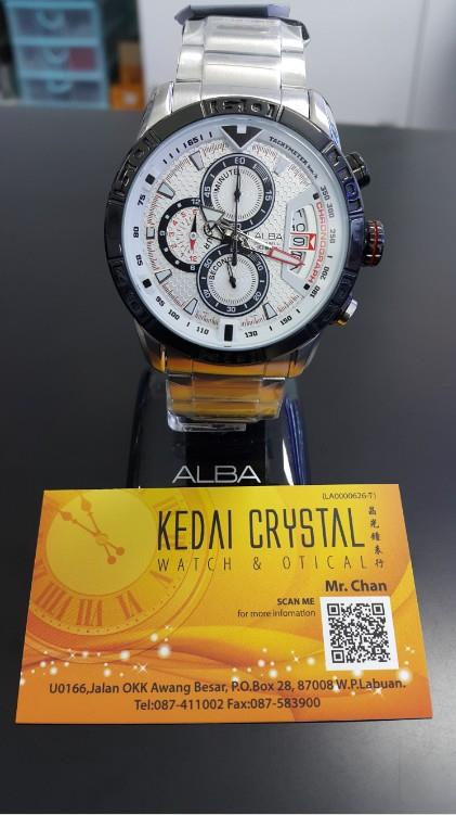 ALBA WATCH AV6049X / VK67-X008 THC