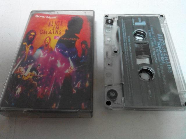 ALICE IN CHAINS - UNPLUGGED CASSETTE KASET