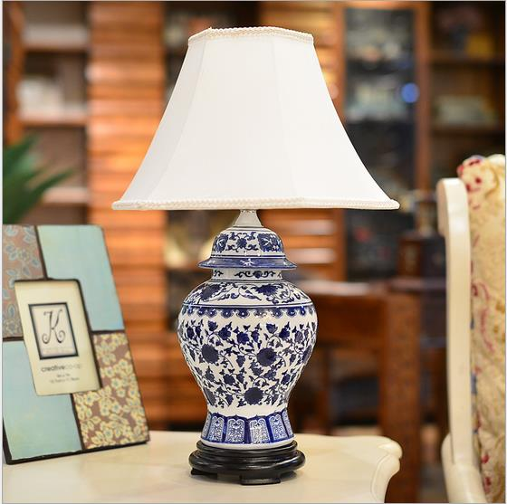 AllFurniture - porcelain table lamp