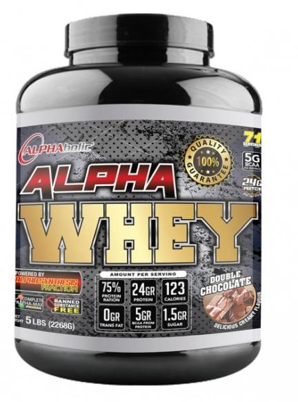 AlphaBolic Alpha Whey 5lbs - Double Chocolate