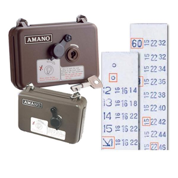 AMANO WATCHMAN CLOCK SECURITY RECORDER + 8 YEARS WARRANTY