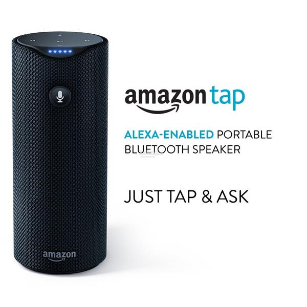Amazon Tap - Alexa-Enabled Portable Bluetooth Speaker - Ready stock