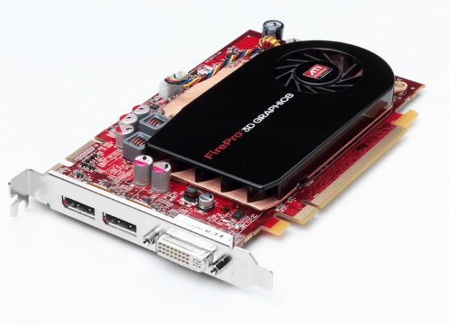 AMD FirePro V3750 256MB 128bits GDDR3 Graphic Card DVI Display K730M