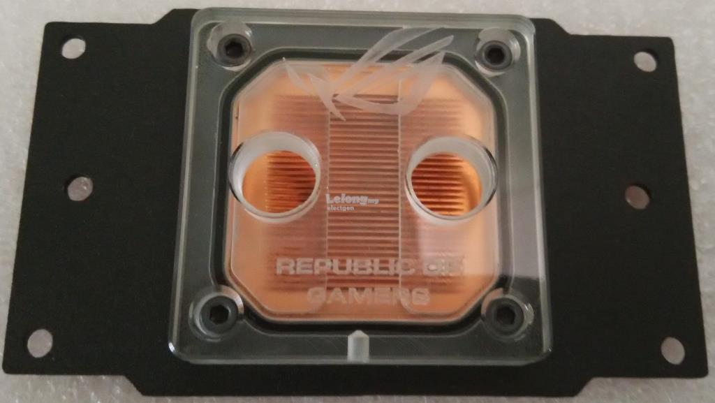 AMD Socket Processor CPU Water Liquid cooling ROG Heatsink LED light