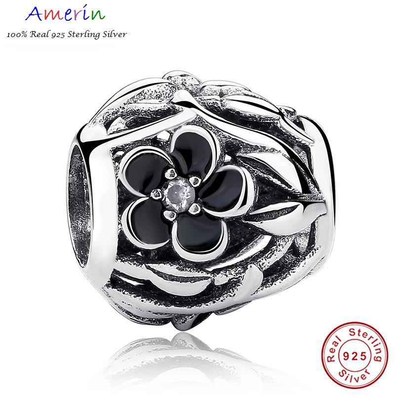 AMERIN 100% Real 925 Sterling Silver Charm Fit Original Bracelet