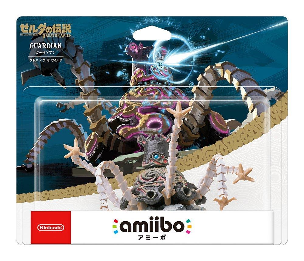 Amiibo Guardian [Breath of the Wild] (The Legend of Zelda series)