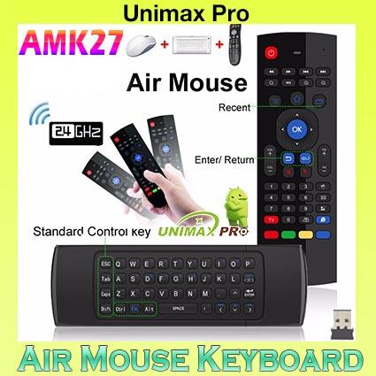AMK27 Air Mouse Keyboard- CS918 M8S ZIDOO PLUS MXQ HIMEDIA ZIDOO MIBOX