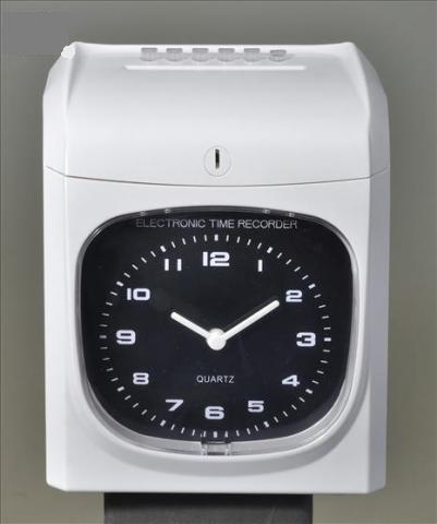ANALOG TIME CLOCK RECORDER+ CARD + 3 YEARS WARRANTY