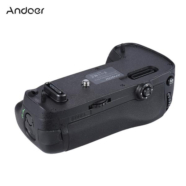 Andoer BG-2R Vertical Battery Grip Holder Compatible