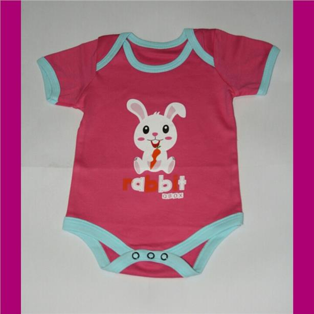 Animal Baby Rompers - Rabbit