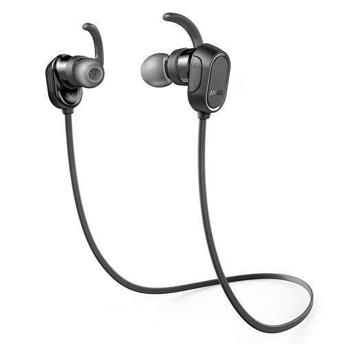 Anker SoundBuds In-Ear Sport Earbuds (Black)