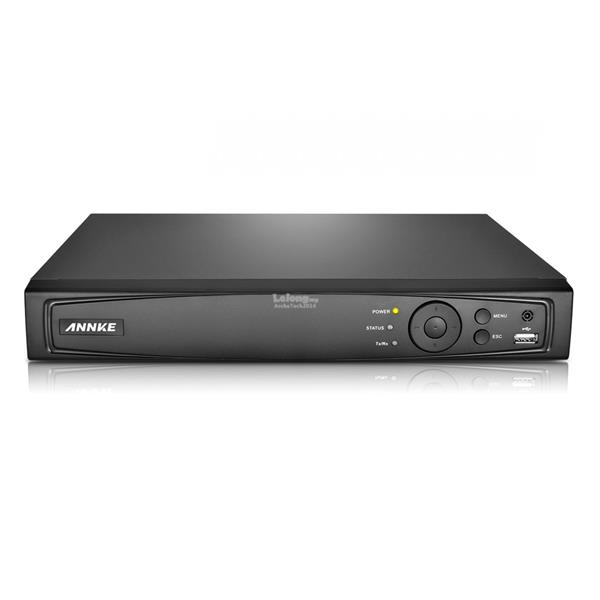 ANNKE 4CH 1080P 2MP TVI/AHD/Analog/IP 4-in-1 Smart DVR DT41GB with 2TB