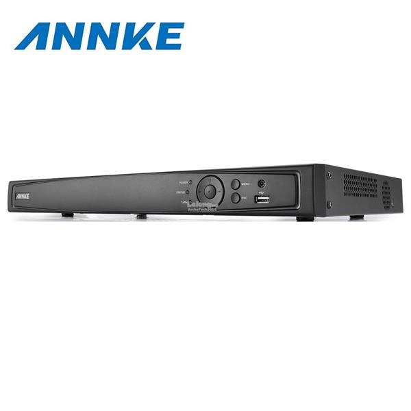 ANNKE 8CH HD 6MP POE NVR Advanced H.264 Video Compression with 1TB HDD