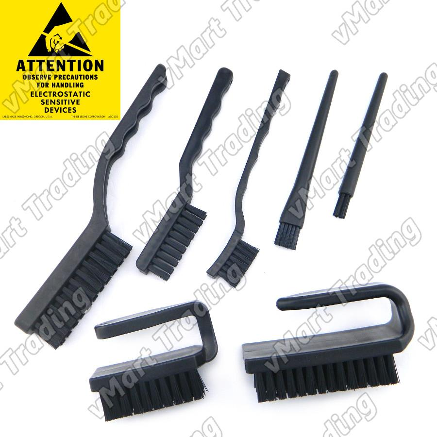 Antistatic / ESD Safe Brush Bundle [7 pieces]