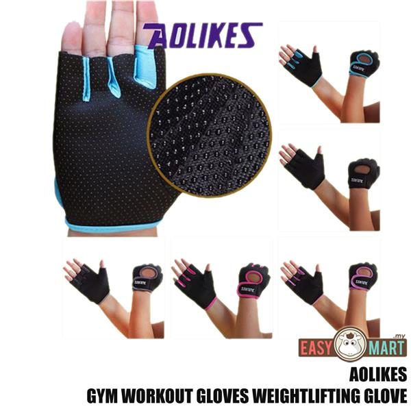 Aolikes Gym Workout Gloves Weight Lifting Training Cycling Glove