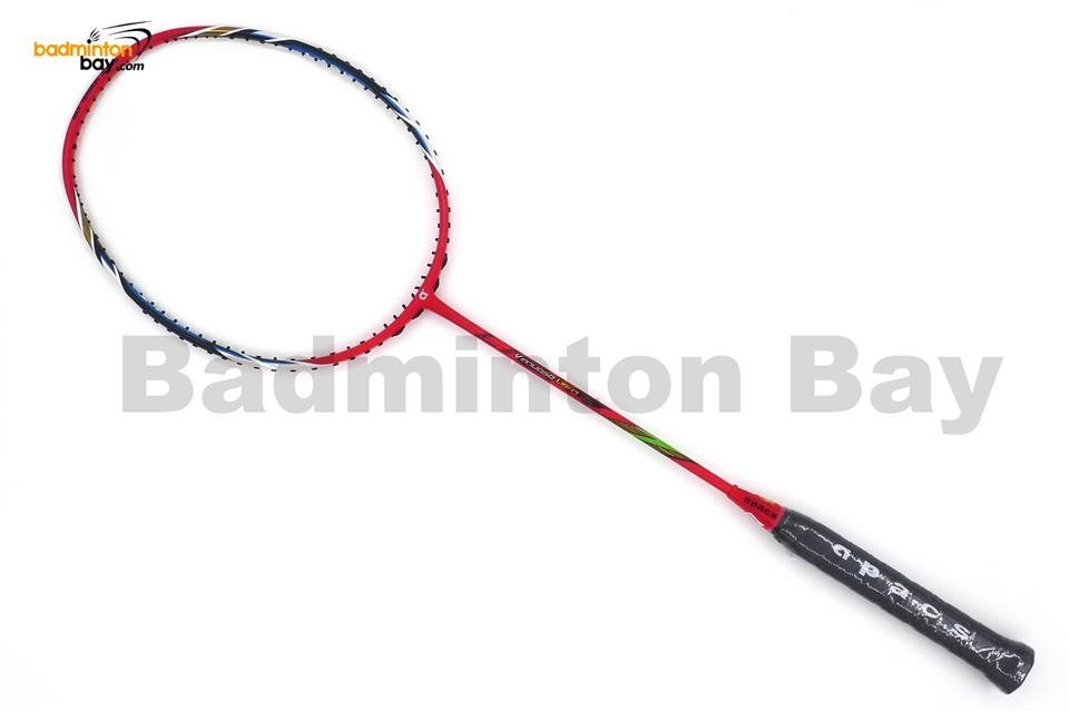 Apacs Virtuoso Light Red Badminton Racket 6U (Edge Saber)