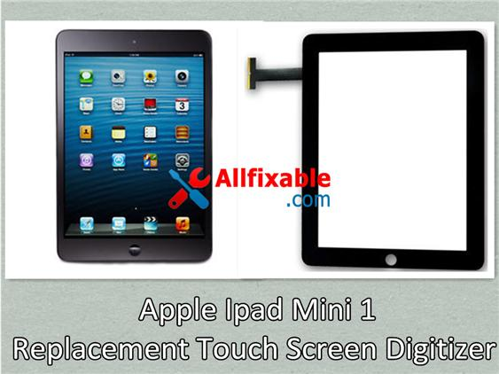 Apple Ipad Mini 1 Broken Glass Touch Screen Digitizer replace change