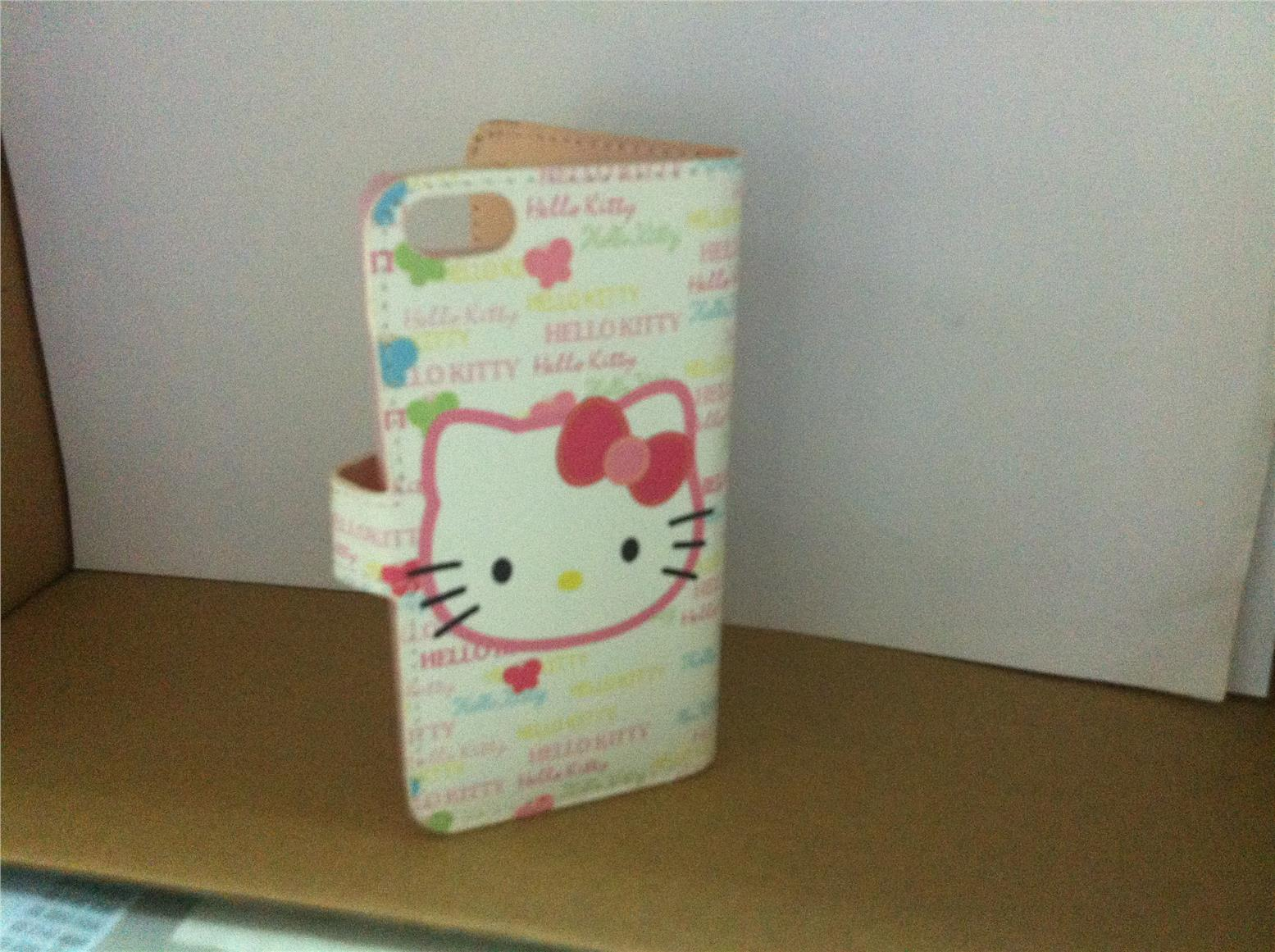 Apple Iphone 5 5s Hello Kitty Diary Case Super Cute Good Quality