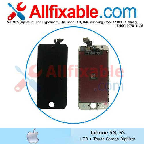 Apple Iphone 5S A1453 A1518 A1528 LED LCD + Touch Screen Digitizer