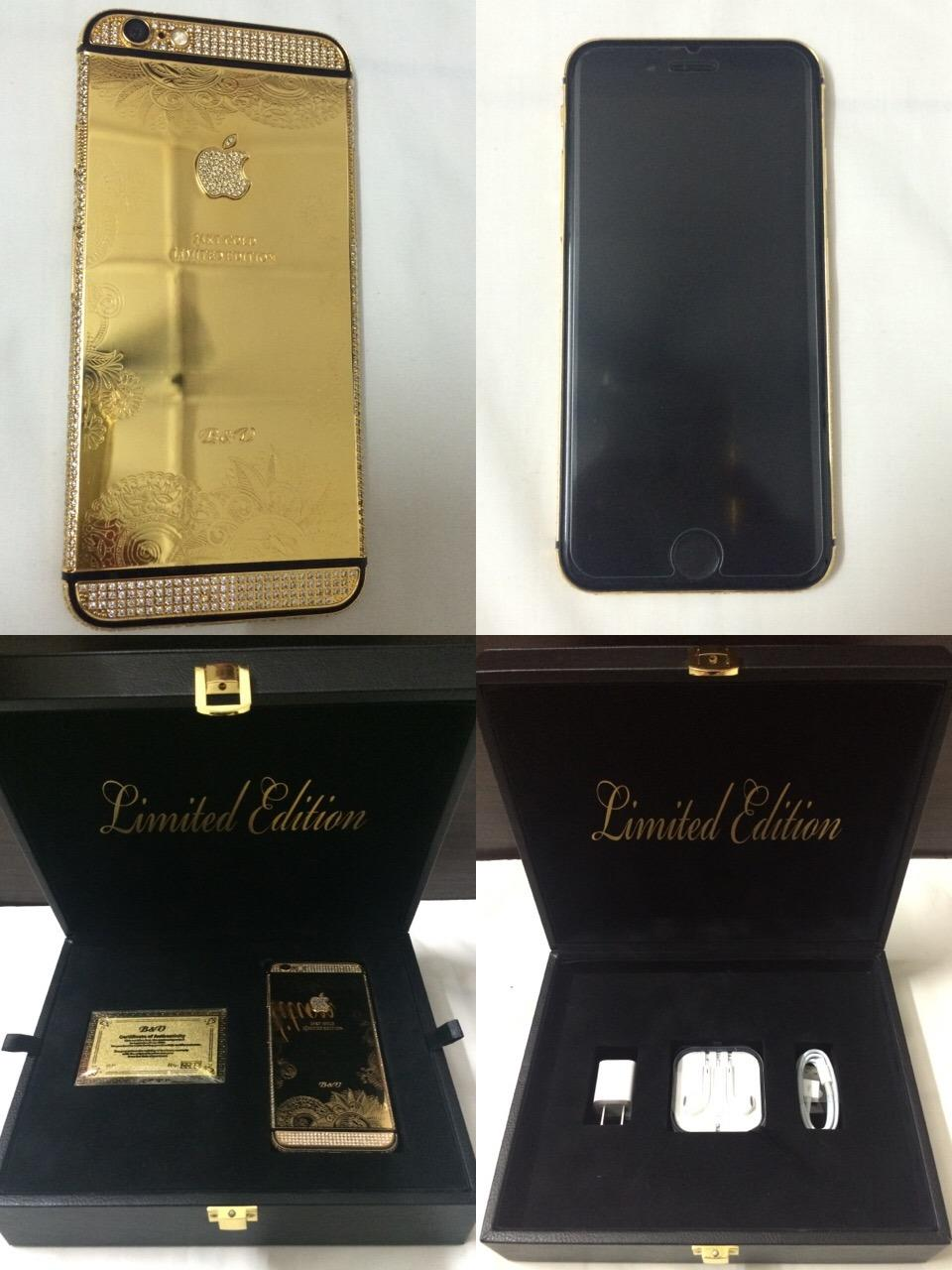 Apple Iphone 6 - 64gb Genuine 24K Gold ( Limited Edition )